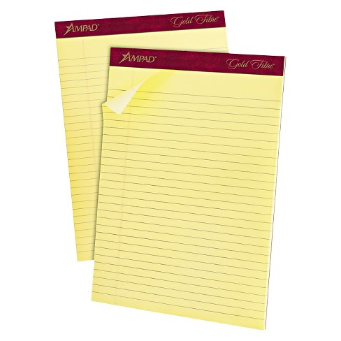 """Ampad Legal Pads 8.5"""" x 11.75"""" - Canary - image 1 of 1"""