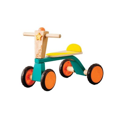 B. toys Wooden Toddler Bike Smooth Rider