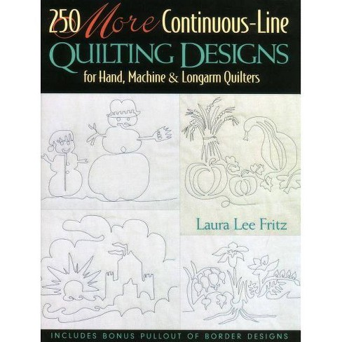10 MORE Continuous-Line Quilting Design - Print on Demand Edition - by  Laura Lee Fritz (Paperback)