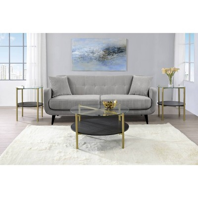3pc Blaine Occasional Table Set Gold - Picket House Furnishings