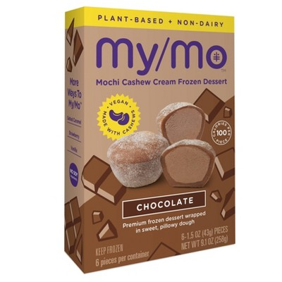 My/Mo Mochi Non Dairy Frozen Dessert Chocolate - 6ct
