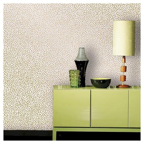 Devine Color Speckled Dot Peel Stick Wallpaper Karat