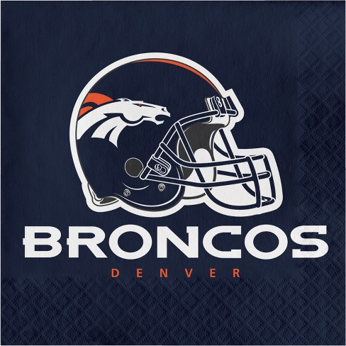 16ct Denver Broncos Napkins - image 1 of 1
