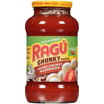 Ragu Super Chunky Mushroom Pasta Sauce - 24oz