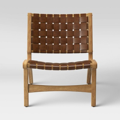 Ceylon Woven Accent Chair Brown - Opalhouse™