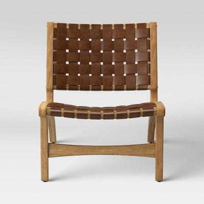Ceylon Woven Accent Chair Brown - Opalhouse™