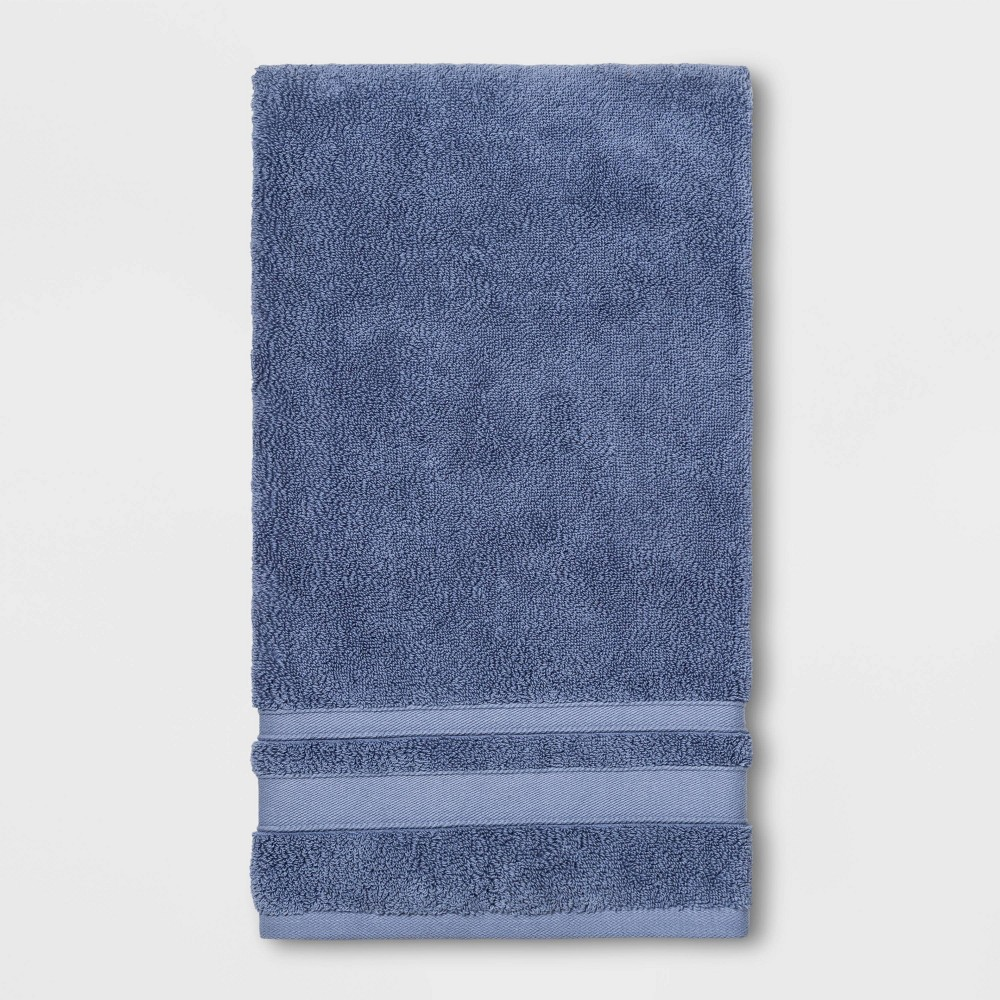 Image of Bath Towel Solid Water Blue - Threshold Performance
