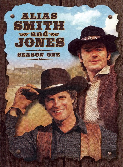 Alias smith and jones:Season one (DVD) - image 1 of 1
