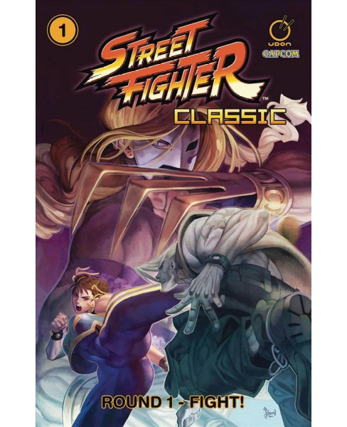 Street Fighter Classic 1 : Round 1 - Fight! -  by Ken Siu-Chong (Paperback) - image 1 of 1