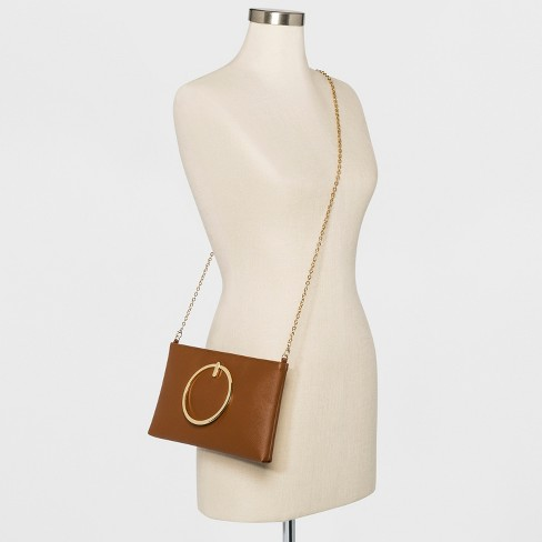 e7716df7186c Estee   Lilly Ring Handle Clutch   Target