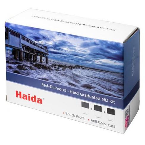 Haida Red-Diamond 100x150mm Hard Graduated ND Filter Kit, 3-Pack - image 1 of 1