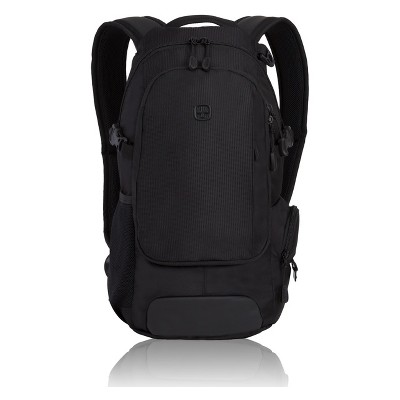 "SWISSGEAR 18"" City Backpack - Black"