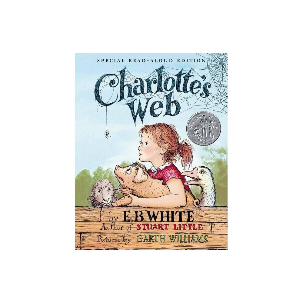 Charlotte S Web By E B White Kate Dicamillo Hardcover