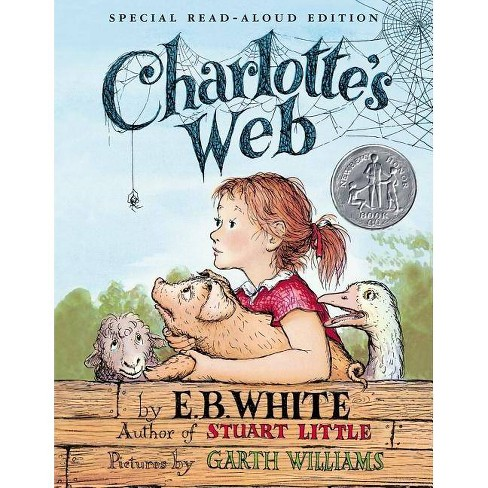 Charlotte's Web - by  E B White & Kate DiCamillo (Hardcover) - image 1 of 1