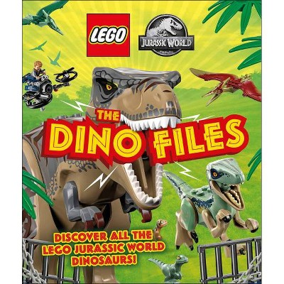 Lego Jurassic World the Dino Files - by  Catherine Saunders (Hardcover)