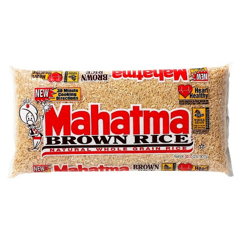 Mahatma Brown Rice - Natural Whole Grain Rice - 32oz - image 1 of 1