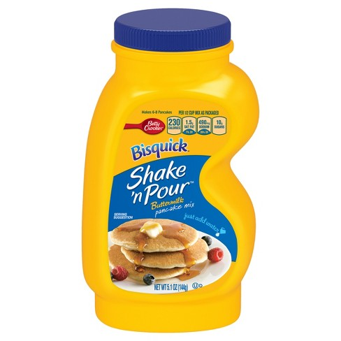 Bisquick Shake 'N Pour Buttermilk Mix- 5.1oz - image 1 of 4