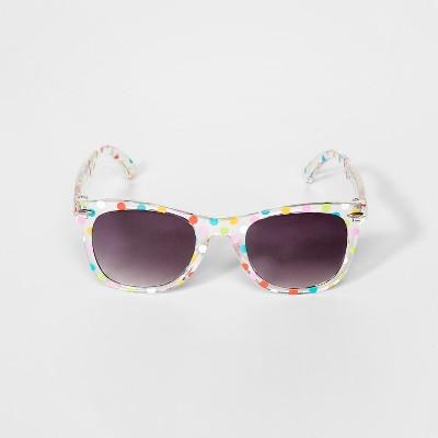 0b121d3e0625 Girls  Polka Dot Wayfarer - Cat   Jack™ Clear