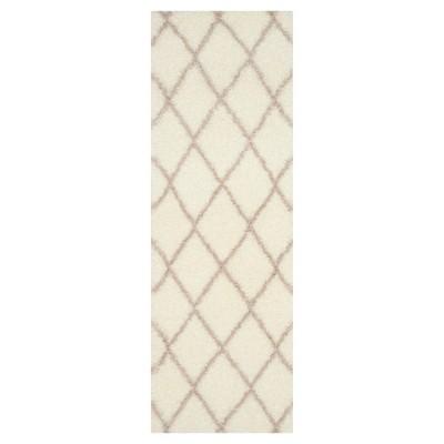 Montreal Shag Rug - Ivory/Beige - (2'3 X7')- Safavieh®