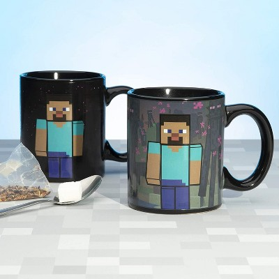 Paladone Products Ltd. Minecraft Enderman 11oz Heat Change Ceramic Mug