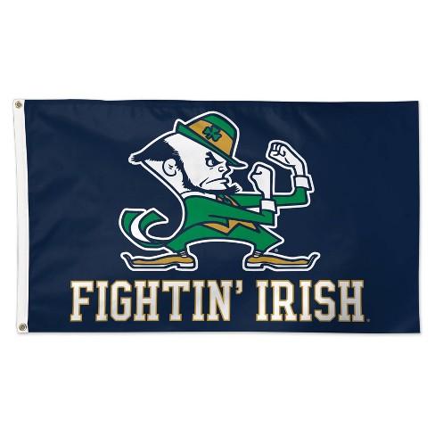 NCAA Notre Dame Fighting Irish 3'x5' Deluxe Flag - image 1 of 1