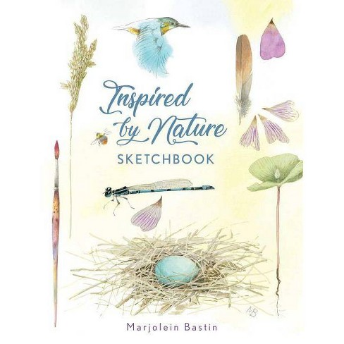 Inspired by Nature Sketchbook - by  Marjolein Bastin (Paperback) - image 1 of 1