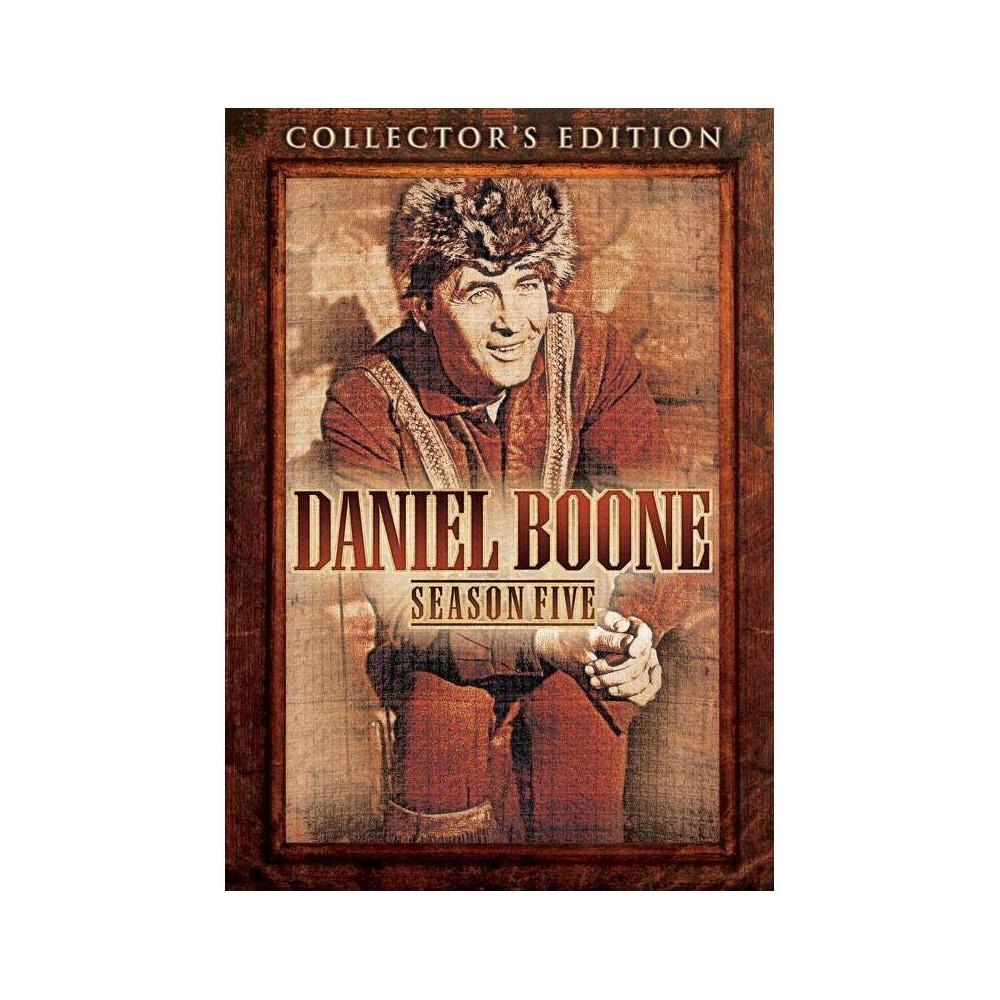 Daniel Boone Season Five Dvd 2017