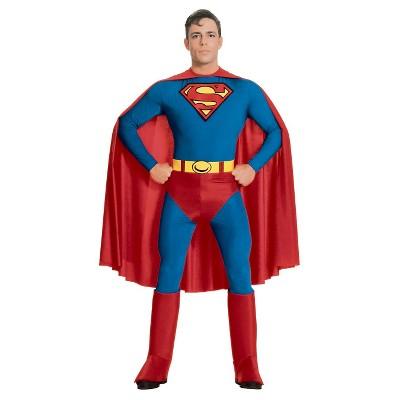 Adult DC Comics Superman Halloween Costume L