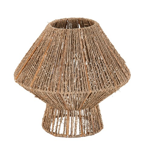 """13"""" Lotte Seagrass Pendant Shade Brown - Holly & Martin - image 1 of 4"""