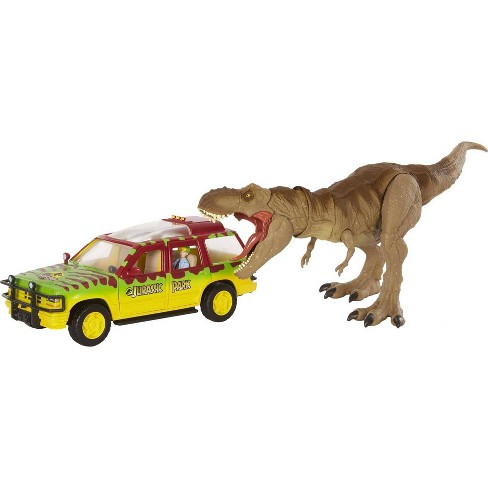 Jurassic World Legacy Collection - Tyrannosaurus Rex Escape Pack (Target Exclusive) - image 1 of 4