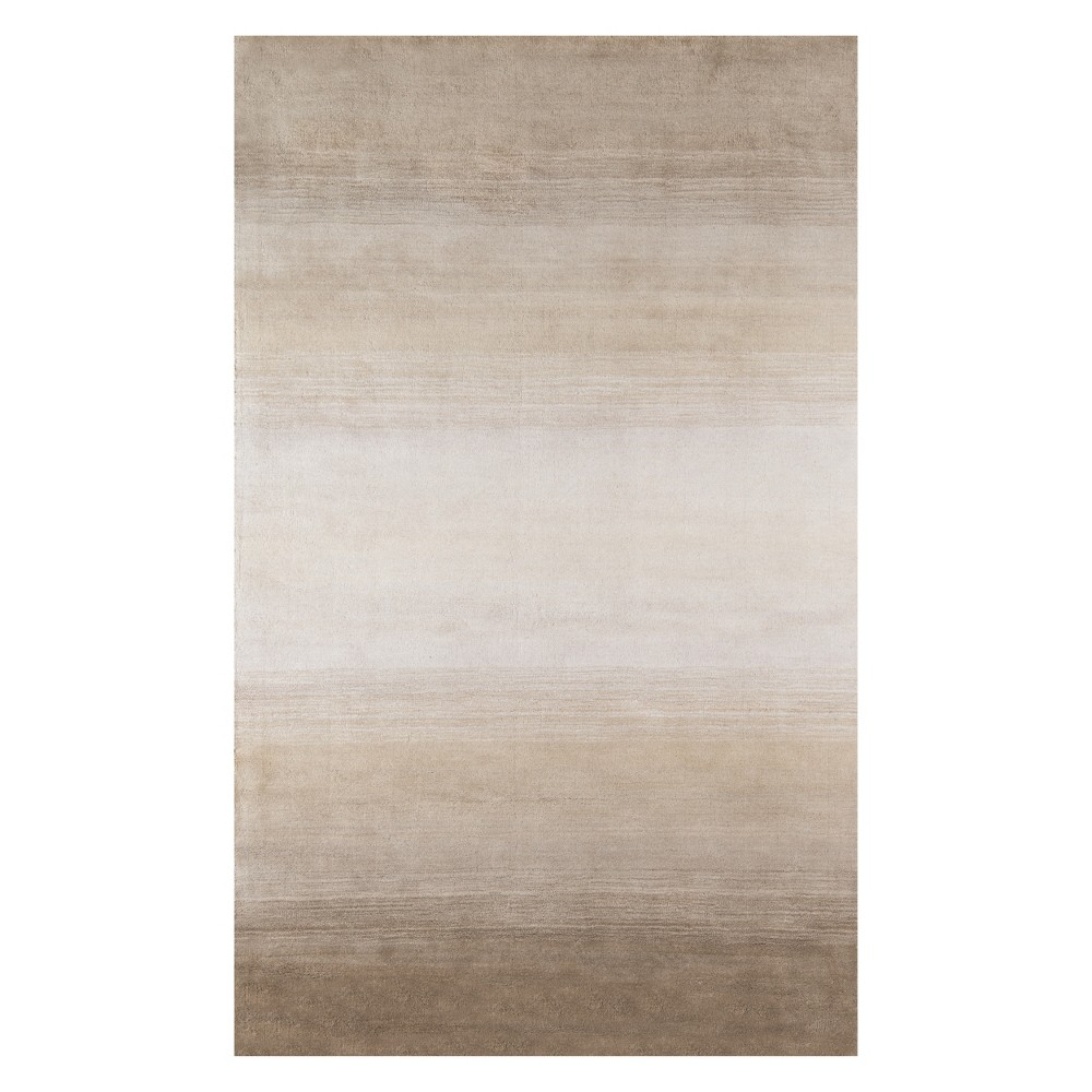 "Image of ""2'3""""X3'9"""" Solid Tufted Accent Rug Taupe - Momeni, Brown"""