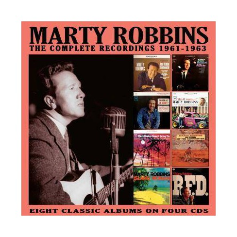 Marty Robbins - Complete Recordings: 1952-1960 (CD) - image 1 of 1