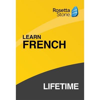 Rosetta Stone Lifetime French