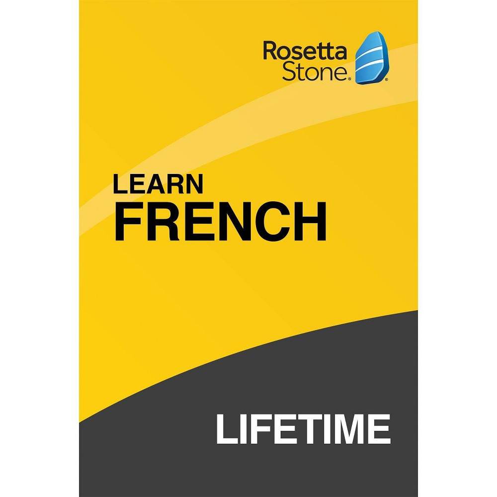 Rosetta Stone Lifetime French was $299.0 now $199.0 (33.0% off)