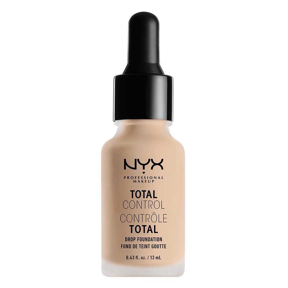 Nyx Professional Makeup Total Control Drop Foundation Porcelain - 0.43 fl oz