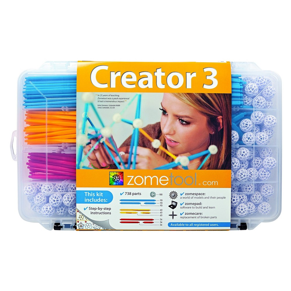 ZomeTool Creator 3 Construction Set