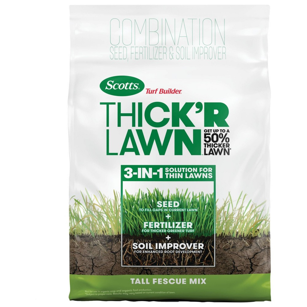 Image of Scotts 40lb Turf Builder Thick'r Lawn Tall Fescue Mix