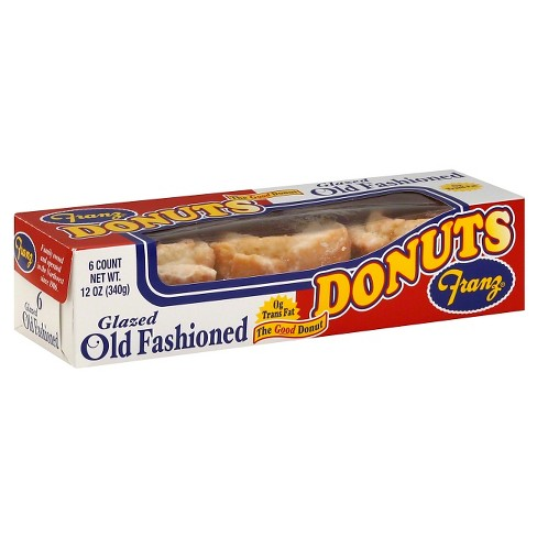 Franz Donuts Glazed Old Fashion Donut - 6ct/12oz - image 1 of 1