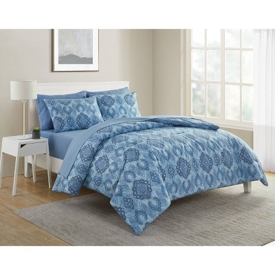 Konya 7pc Bed In A Bag Comforter Set - VCNY Home