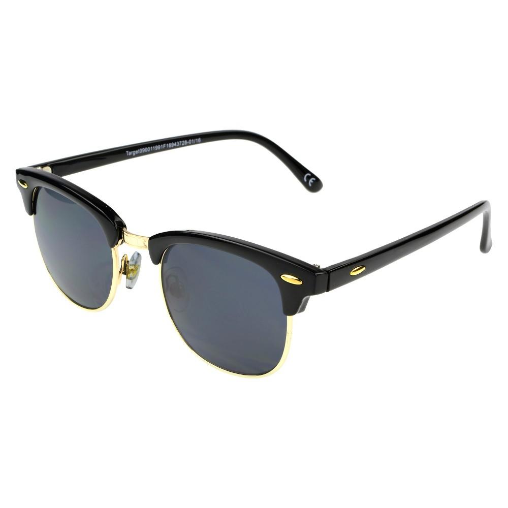 Women's Clubmaster Sunglasses - Black