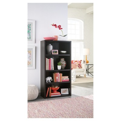 Exceptionnel 4 Shelf Bookcase   58.52   Black Walnut   ClosetMaid : Target