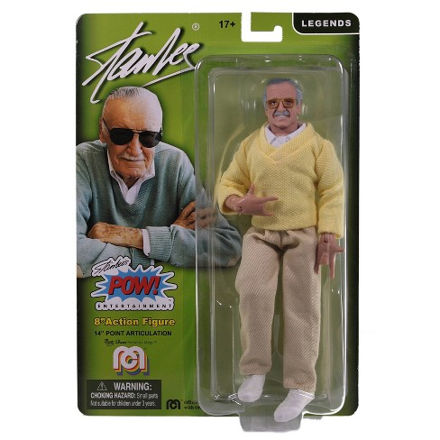 Mego Stan Lee Sweater Action Figure - image 1 of 4