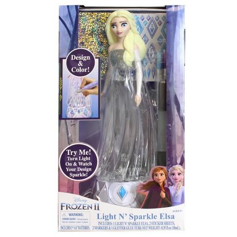 Frozen 2 Light N' Sparkle Elsa - image 1 of 4