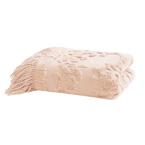 """60""""x50"""" Mila Cotton Tufted Throw Blanket - image 1 of 4"""