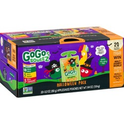 GoGo SqueeZ Applesauce On The Go - 64oz 20ct