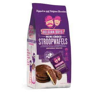 Belgian Boys Mini Choco StroopWafels - 6.35oz