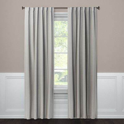 Blackout Curtain Panel Aruba Gray Stone 108  - Threshold™