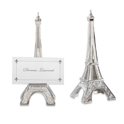12ct Eiffel Tower Table Place Holder