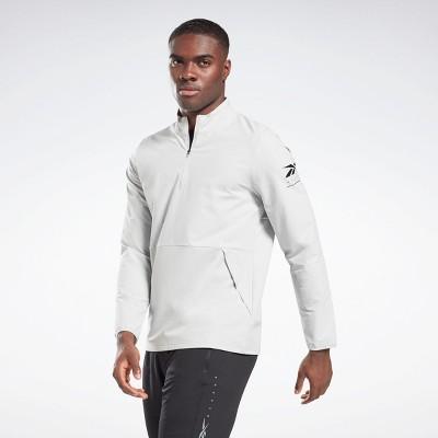 Reebok Performance Quarter-Zip Jacket Mens