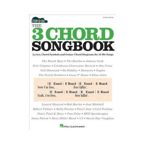 3 Chord Songbook Guitar Vocal Strum Sing Paperback Target